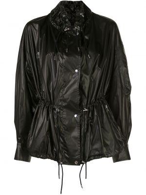 Черная куртка на молнии с воротником Isabel Marant