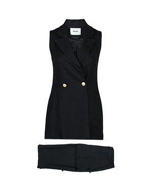 Черный костюмный костюм Max & Moi