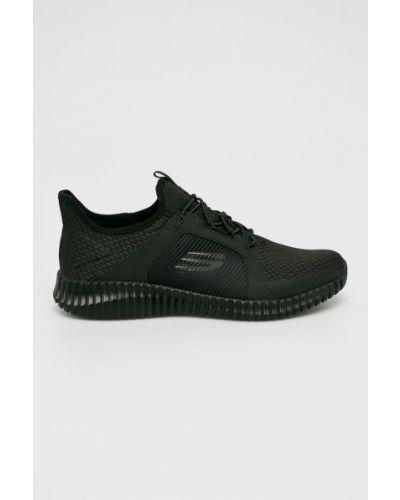 Ботинки на шнуровке черные Skechers