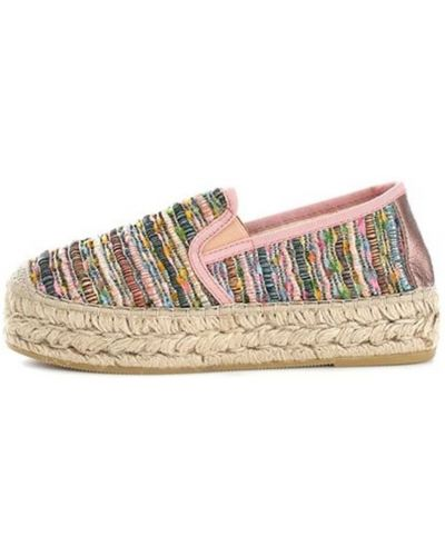 Różowe loafers Vidorreta