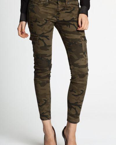 Зеленые джинсы Pepe Jeans