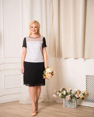 Вечернее платье миди с заниженной талией Merlis