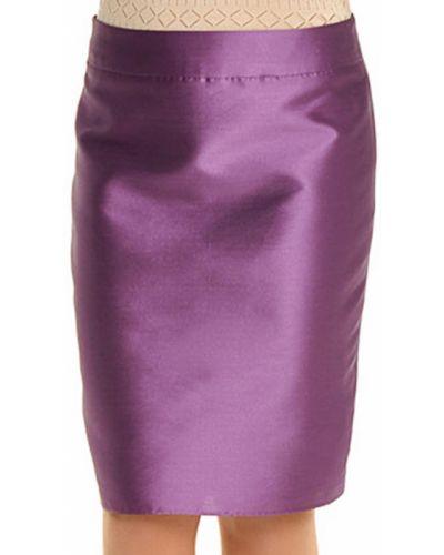 Шелковая юбка - фиолетовая Armani Collezioni