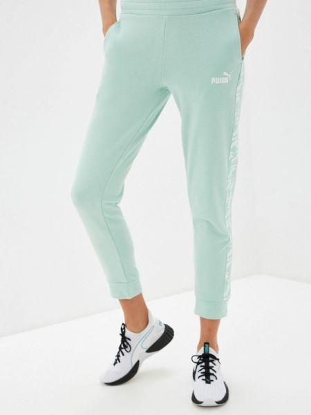 Спортивные брюки зеленый весенний Puma