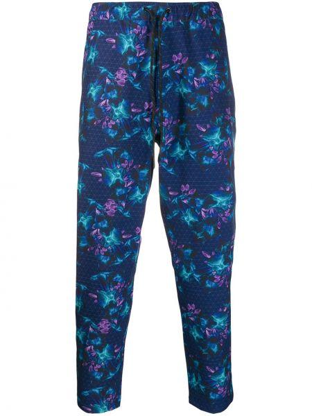 Niebieskie spodnie Dyne