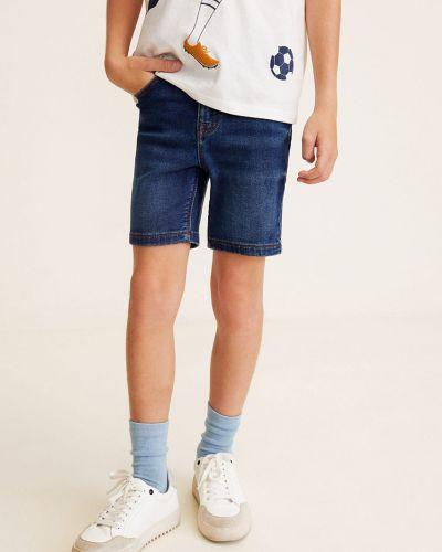 Шорты джинсовые на пуговицах Mango Kids