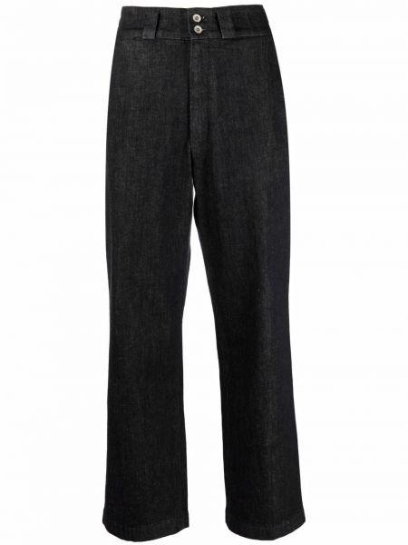 Черные прямые брюки Barena