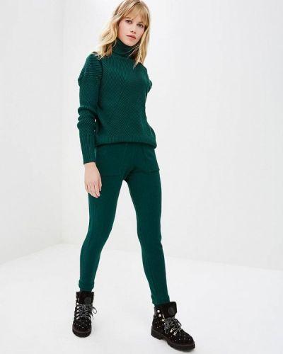 Зеленый костюм вязаный Miss Gabby