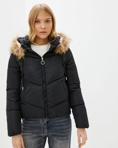 Утепленная куртка - черная Miss Gabby