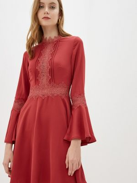 Вечернее платье коралловый красный Little Mistress