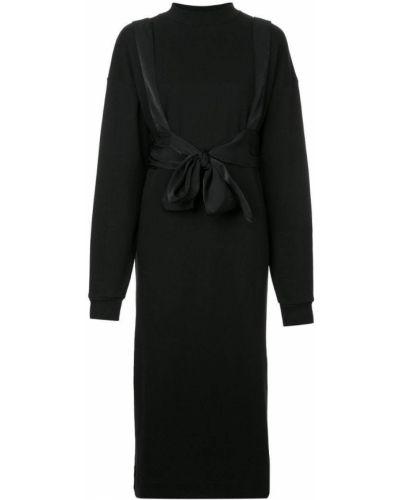 Платье с поясом платье-толстовка с вырезом G.v.g.v.