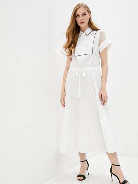 Белое платье Cavalli Class