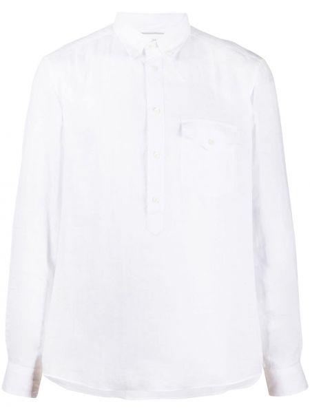 Koszula z długim rękawem klasyczna z kieszeniami Brunello Cucinelli