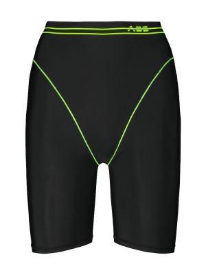 Черные шорты Adam Selman Sport