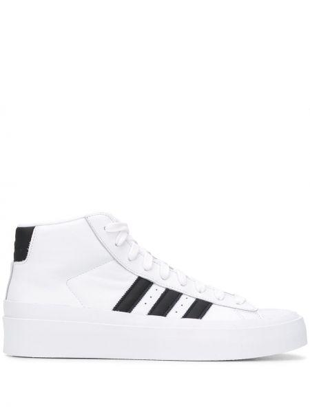 Sneakersy wysokie - białe Adidas By 424