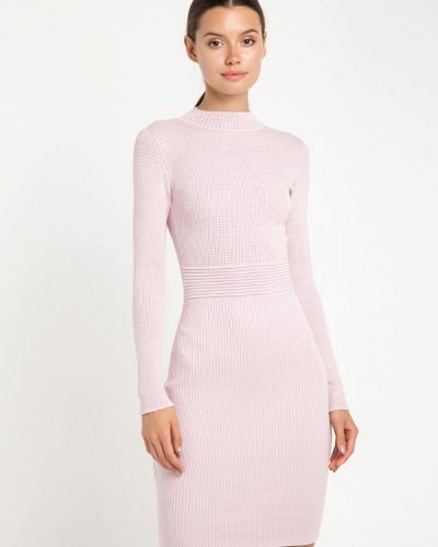 Платье розовое осеннее Fors