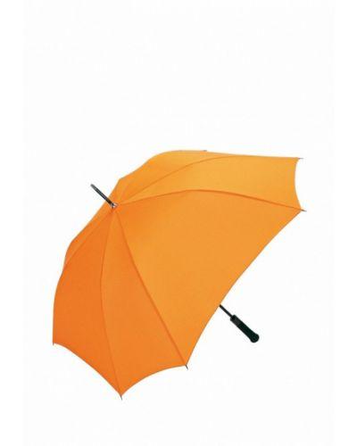 Зонт-трость оранжевый Fare