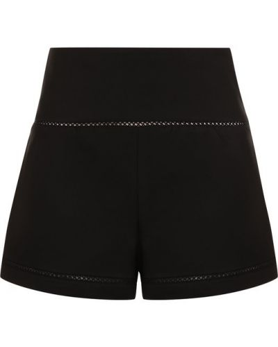 Короткие шорты с отворотами с узором Redvalentino
