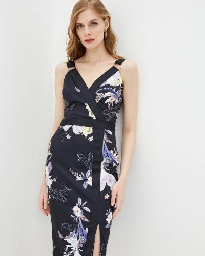 Синее платье-футляр Ted Baker London