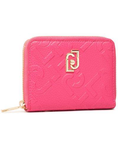 Różowy portfel oversize Liu Jo