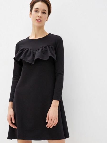 Платье прямое черное Numinou