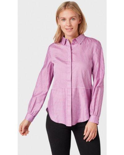 Розовая рубашка с длинным рукавом Tom Tailor