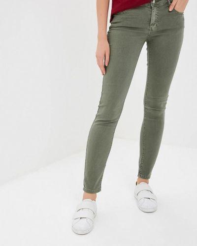 Зауженные джинсы - зеленые Fascinate