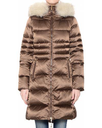 Куртка осенняя коричневая Geospirit