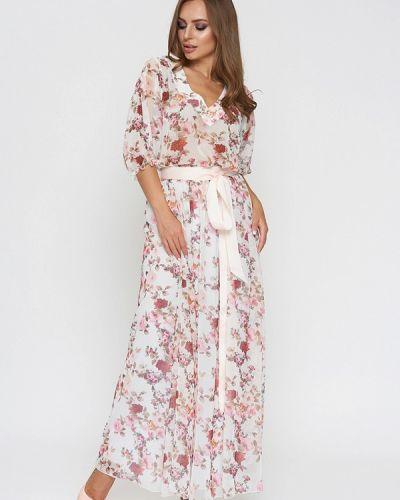 Платье макси весеннее Sellin