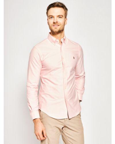 Koszula slim - różowa Polo Ralph Lauren
