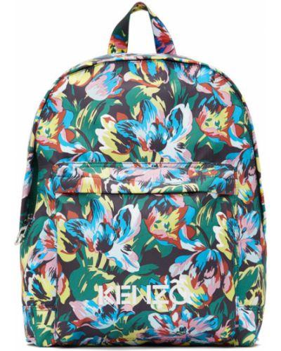 Рюкзак белый текстильный Kenzo