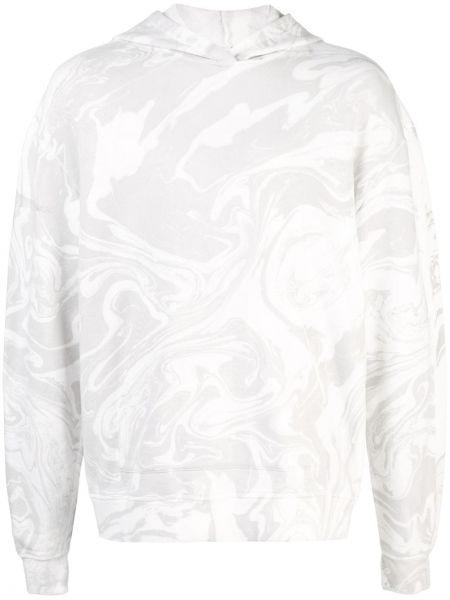 Bluza biały z kapturem John Elliott