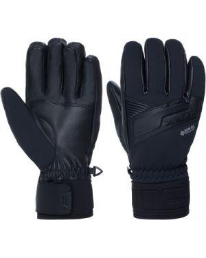 Кожаные перчатки спортивные черные Ziener