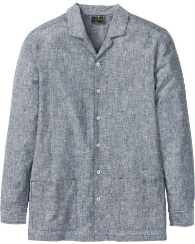 Пиджак с карманами меланж Bonprix