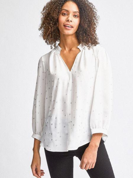 Блузка с длинным рукавом белая весенний Dorothy Perkins