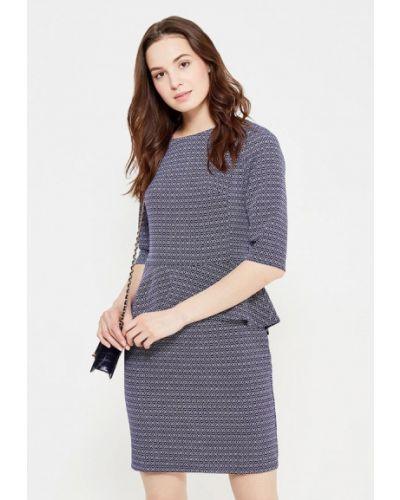 Платье - синее Dlys