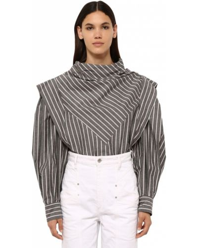 Рубашка в полоску под запонки Isabel Marant