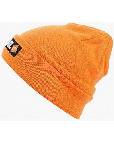 Оранжевая шапка осенняя Nike