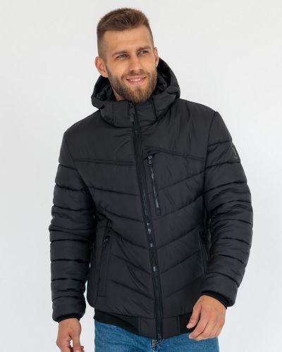Куртка с капюшоном - черная Ugos