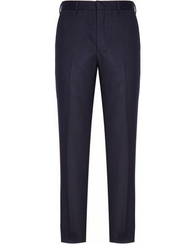 Классические брюки с карманами со стрелками Prada