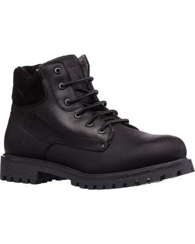 Коричневые кожаные ботинки с подкладкой Lumberjack