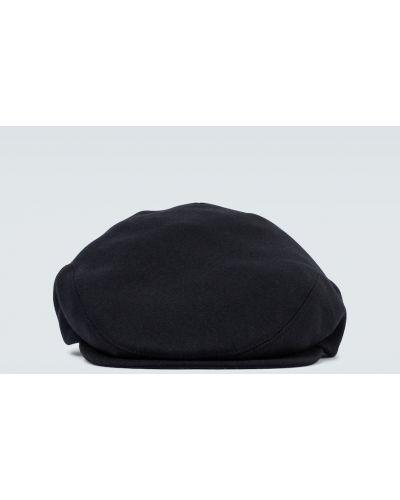 Klasyczny wełniany czarny beret Dolce And Gabbana
