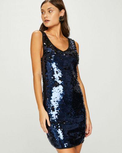Платье мини с пайетками с V-образным вырезом Answear