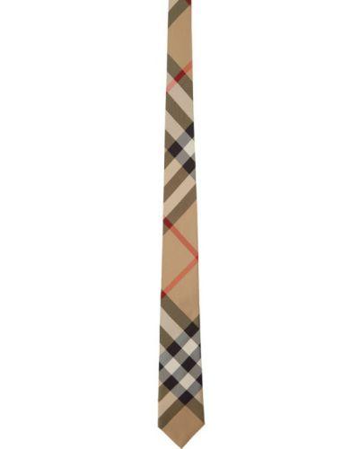 Шелковая черная резинка для волос Burberry