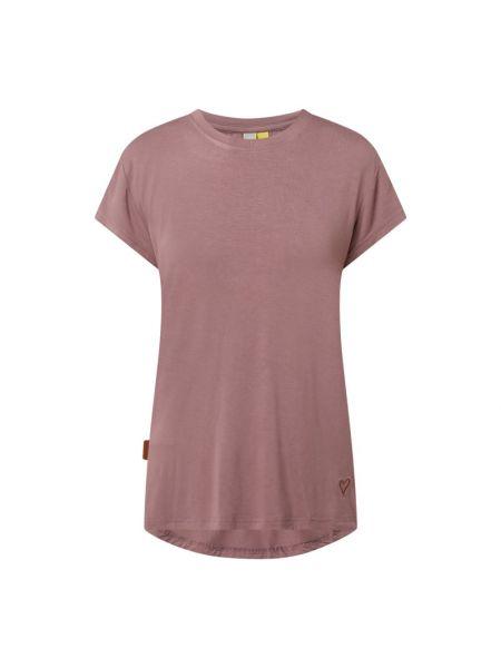 T-shirt z wiskozy - fioletowa Alife And Kickin