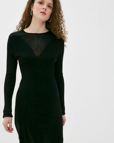 Прямое черное платье Haily's