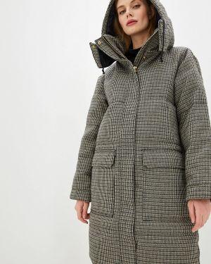 Зимняя куртка осенняя серая By Malene Birger