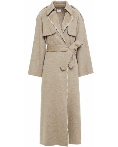 Пальто из альпаки Khaite