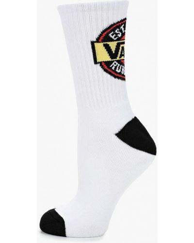 Белые носки Vans