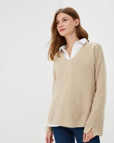 Бежевый пуловер United Colors Of Benetton